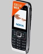 Téléphone NOKIA E51 Silver Bouygues Telecom - Pour forfaits Pro Bouygues Telecom
