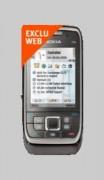 Téléphone NOKIA E66 Grey Steel Bouygues Telecom - Pour forfaits Pro Bouygues Telecom