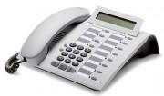 Téléphone numérique blanc à 12 touches de fonction - Eco-recylé - afficheur 24 caractères