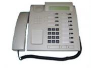 Téléphone numérique Eco-recylé blanc - 12 touches programmables + LED