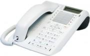 Téléphone numérique Full Duplex multitouches - Eco-recyclé blanc - multilignes - multitouches