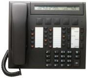 Téléphone numérique noire anthracite - 20 touches personnalisables avec diodes