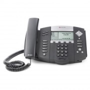 Téléphone Polycom IP/SIP - Dimensions (cm) : 26.5 x 15 x 4.5