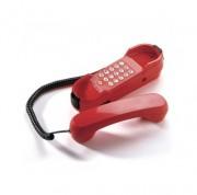Téléphone poste d'urgence rouge - Réglage sonnerie (fort – faible – off)