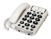 Téléphone pour malvoyants - Compatible appareil auditif
