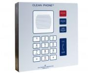 Téléphone pour salles blanches VoIP IP65  - Téléphone pour salles blanches VoIP IP65 montage Mural