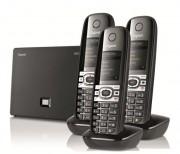 Téléphone sans fil gigaset Pack Trio - Répertoire de 150 entrées