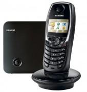 Téléphone sans fil main libre Siemens - Autonomie en conversation : 15 heures