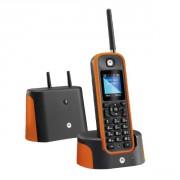 Téléphone sans fil Motorola O201 Orange - Ultra robuste (IP67) et portée 1km