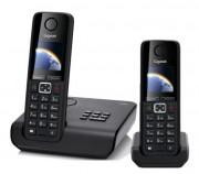 Téléphone sans fil plus combiné supplémentaire - Portée (m) : 50 en intérieur et 300 en extérieur