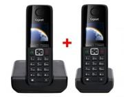 Téléphone sans fil siemens gigaset C300 - Portée :50 m en intérieur et 300 m en extérieur