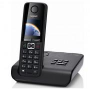 Téléphone sans fill Gigaset mains libres - Portée : 50 m en intérieur et 300 m en extérieur