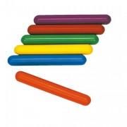 Témoins de relais PVC - Lot de 6 - Longueur : 30 cm - Diamètre : 38 mm