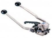 Tendeur sertisseur manuel de feuillard - Largeur feuillard acier: 13 à 19 mm - Epaisseur Feuillard: 0.4 à 0.6 mm