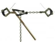 Tendeurs pour fils lisses ou barbelés - Avec ou sans crochet - Pour diamètres allant de 1.6 mm à 5 mm