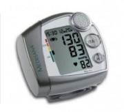 Tensiomètre de poignet avec assistance vocale - Fourchette de mesure : SYS / DIA : 0 - 300 mmHg - Pouls : 30 à 180 battements/mn
