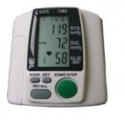 Tensiomètre électronique au poignet - Fourchette de mesure : SYS / DIA : 0 - 300 mmHg - Pouls : 40 à 199 battements/mn