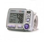 Tensiomètre poignet professionnel - Mémoires :  90 mesures - Affichage des valeurs : systole, diastole, pouls, date, heure