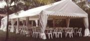 Tente abri en aluminium anodisé - Tente abri