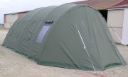 Tente abri militaire - Montage en 15 min - Bâche en PVC enduit double face
