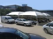 Tente abri voiture - Dimensions (L x P) cm : De 550 x 550 à 1200 x 1200