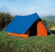 Tente canadienne patrouille 7 places - Hauteur (cm) : 165