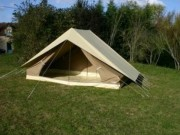 Tente canadienne patrouille 8 inversée - Hauteur (cm) : 180