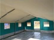 Tente d'activités - Hauteur : centrale : 2.80 m murs : 1.90 m