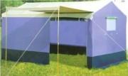 Tente de couchage avec baie moustiquaire