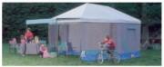 Tente de jeu enfant - Coloris : Toit blanc , murs turquoise , gris , bleu