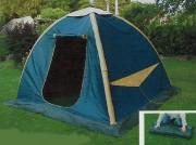 Tente de loisirs - Se monte en 3 minutes - Pliage en 3 phases