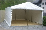 Tente de réception 10 x 4 mètres - Dimensions (Lxl) : 10 x 4 m