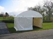 Tente de réception 12 × 5 mètres - Dimensions (Lxl) : 12 × 5 m