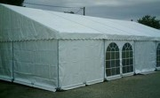 Tente de réception 12x5 pour collectivité - Surface : 12x5 - 60 m² (Toit+Armature)