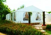 Tente de réception 8 × 5 mètres - Dimensions (L×l) : 8 × 5 m
