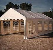 Tente de réception démontable - Tubes en acier Ø50mm et une bâche PVC 520g/m2 certiée antifeu M2.