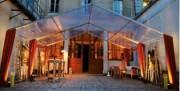 Tente de réception événementielle - Résistance au vent : 100km/h  -  Charge neige : 10kg/m² (4cm)