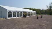 Tente de réception modulable - Châssis aluminium - Bâche PVC Haute résistance