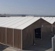 Tente de stockage étanche - Portées de 5 à 40 m