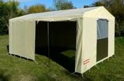 Tente de stockage pour collectivité - Surface : 13.05 m²