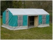 Tente dortoir - Dimensions (Lxlxh) m : 6 x 3.1 x 2.8