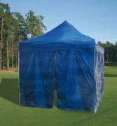 Tente pliante avec porte d'accès - Dimensions (Lxlxh) : 3000 x 3000 x 2150 - 3000 x 4500 x 12150 mm