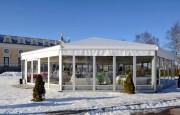 Tente polygone de réception - Largeur : 6m/8m/10m/12m