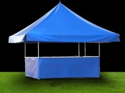 Tente pour buvette - Surface : 4.50 x 4.50 m²