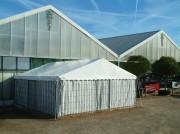 Tente pour commerce - Dimensions (L × l) : 8 × 6 m