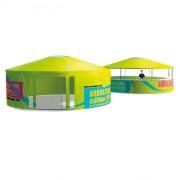 Tente yourte - Hauteur 2.9 m- Diamètre 6 m- Poids 180 kg