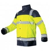 Tenue de pluie fluo pour chantier - Tailles : M - L - XL - XXL - XXXL