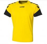 Tenue de match foot pour homme - Maillot de foot jaune et noir
