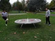 Ping pong foot