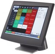 Terminal de caisse tactile TFT 15'' - Écran tactile TFT 15''  -  5 à 6 ports USB